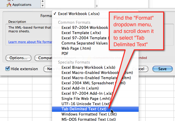 Upload a data sheet to a mailing list – Finalsite Support